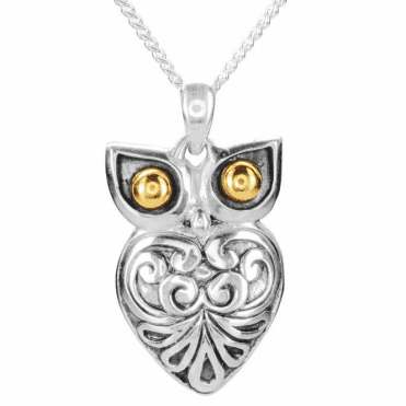 Ladies Shipton and Co Silver Pendant including a 16 Silver Chain TSS257NS