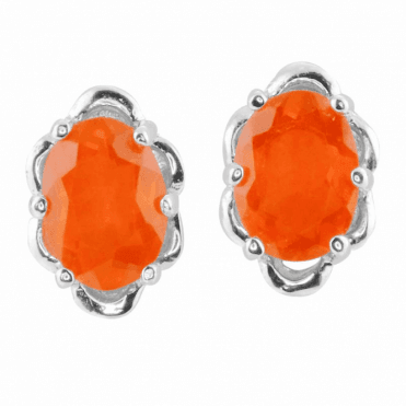 Ladies Shipton and Co Silver and Fire Opal  EQA576FO