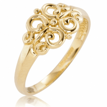Ladies Shipton and Co 9ct Yellow Gold Ring TAR624NS