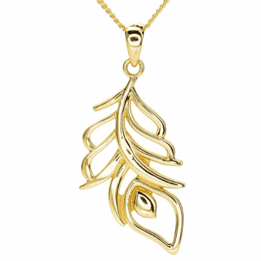 Ladies Shipton and Co 9ct Yellow Gold Pendant including a 16 9ct Chain TAR626NS