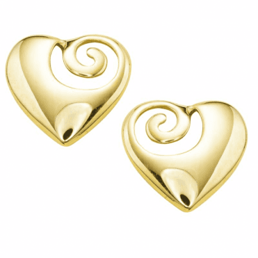 Hearts of Solid 9ct Gold