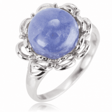 Ladies Shipton and Co Silver and Tanzanite Ring RQA607TZ