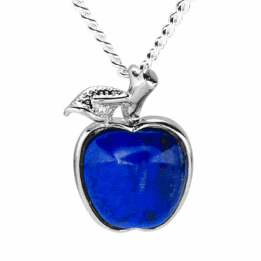 Ladies Shipton and Co Silver and Lapis Lazuli Pendant including a 16 Silver Chain TYS164LL