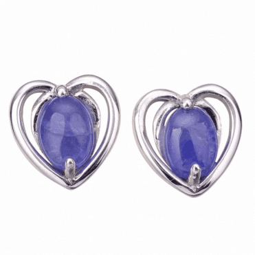 Ladies Shipton and Co Silver and Tanzanite  EQA639TZ