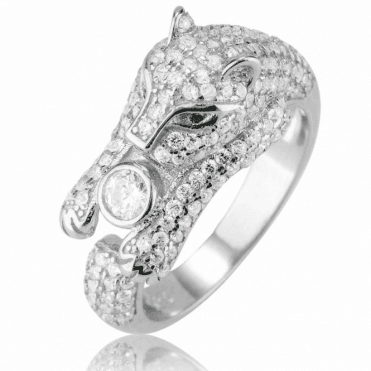 Ladies Shipton and Co Silver and Cubic Zirconia Ring TAO074CZ