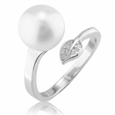 Ladies Shipton and Co Silver and Freshwater Pearls Ring TEN076FPCZ