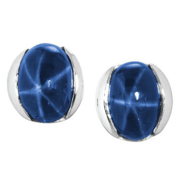 Intriguing Star Sapphire Earrings for a Magical £80