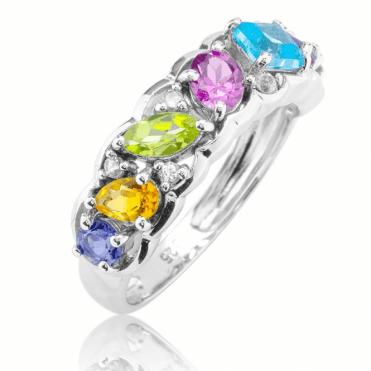 Over 1¾cts of Jewelled Rainbow Light