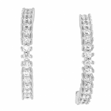 Ssh, your Secret Sparkle ?Diamond? Earrings are Only £30
