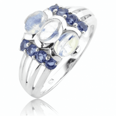 A Dreamy Fusion of Moonstone & Iolite