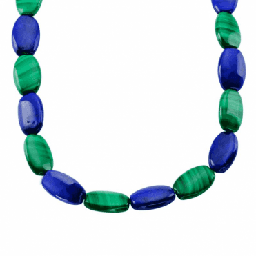 200cts of Glossy Malachite and Starry Lapis