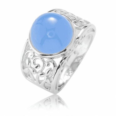 Astonishing 6ct Dome of Rich Blue Jade for Only £57.50