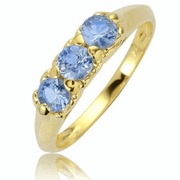 0.9ct of the Finest Intense Blue Ceylon Sapphires