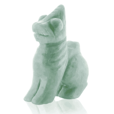 A Guardian Emerges from Solid Jade