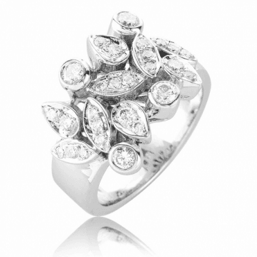 Celestial Dream Ring with 24 Diamonds