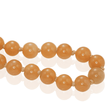 500ct Globe Beads of Golden Jade ? Save £50