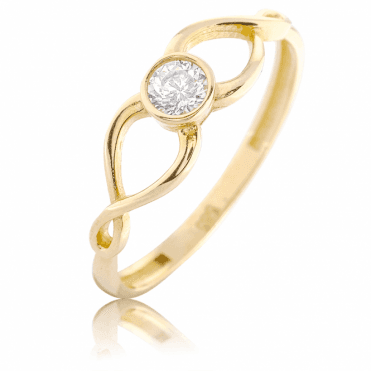9ct Gold Solitaire keeps a Spectacular Secret (shh, it?s only £75)