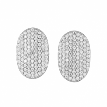 Pavé Crystal Dazzlers with Post Fitting