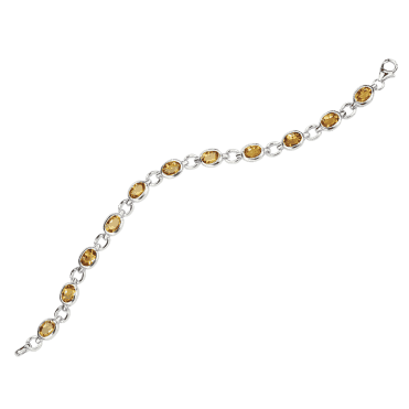 Ladies Shipton and Co Exclusive Silver and Citrine Bracelet AQA197CI