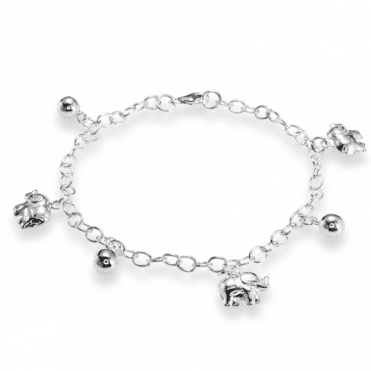 Ladies Shipton and Co Silver Bracelet TDA150NS