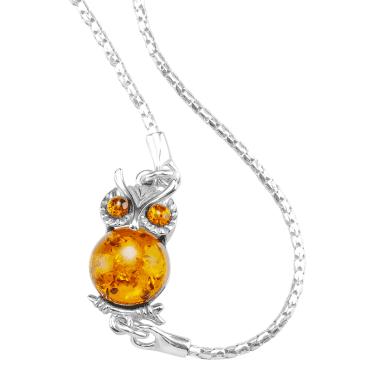 1¾ct Amber Owl Bracelet