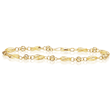 9ct Yellow Gold in Intriguing Links