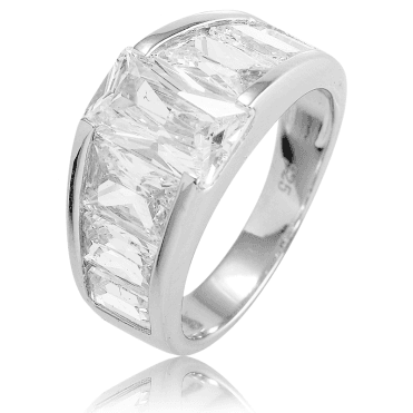 Glorious Octagon Cut Ring for Only £47.50