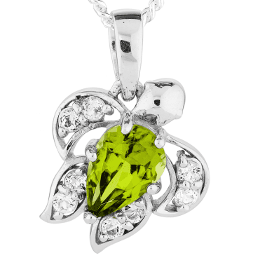 Peridot Turtle Pendant Totem of the Silver Years