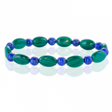 Contrasts of Malachite & Lapis