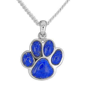 Pet-Lover?s Dream Pendant in Lapis Lazuli