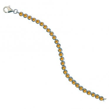 Ladies Shipton and Co Exclusive Silver and Citrine Bracelet AQA034CI