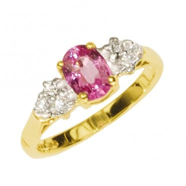 Special Pink Sapphire Ring