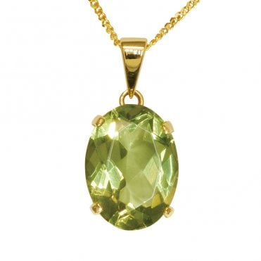 Ladies Shipton and Co 9ct Yellow Gold and Amber Pendant including a 20 9ct Yellow Gold Chain PY1352AB4