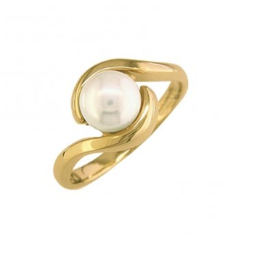 Perennial Cultured Pearl Ring