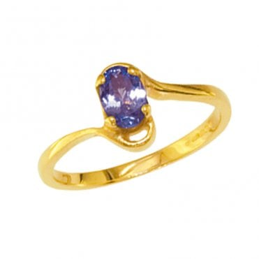 Ladies Shipton and Co Exclusive 9ct Yellow Gold and Tanzanite Ring RY1949TZ