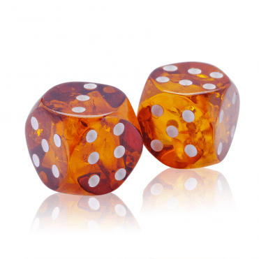 Magical Amber Dice are a Charm