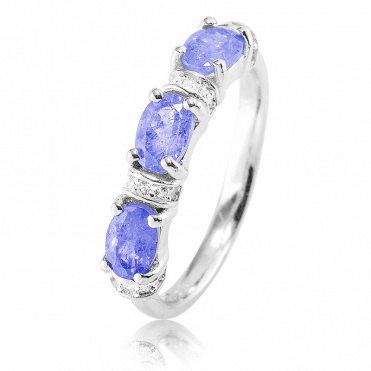 Egyptian Inspiration for 11/2cts of Tanzanite