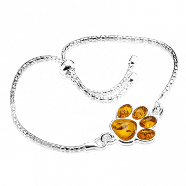 Pet Lover?s Amber Companion Bracelet