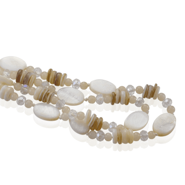 "Super-Long 40"" Shell Necklet"