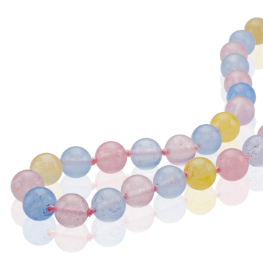 400cts of Playful Pastel Jade - Extra Long & So Easy to Wear