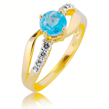Spirit Ring with over ¾ct of Apatite