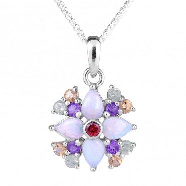Fresh Opals in a Garden of Coloured Jewels