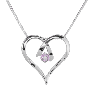 A Heart, A Kiss, A Perfect Pink Topaz