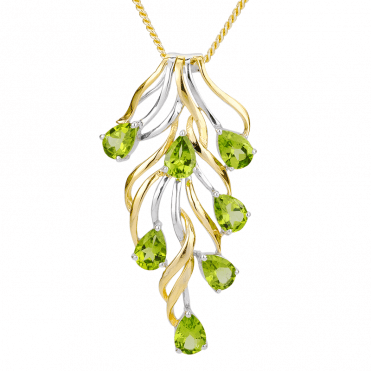 Jasper May Pendant Design for 5½cts of Peridot