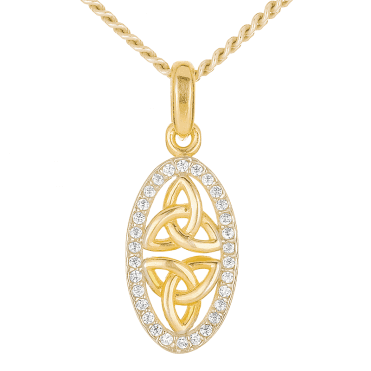 Ancient Celtic Connections Recalled in 9ct Gold