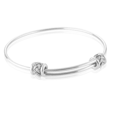 Easy-fitting Adjustable Silver Bracelet
