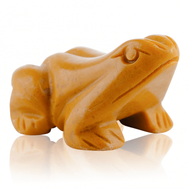 Yellow Quartzite Frog