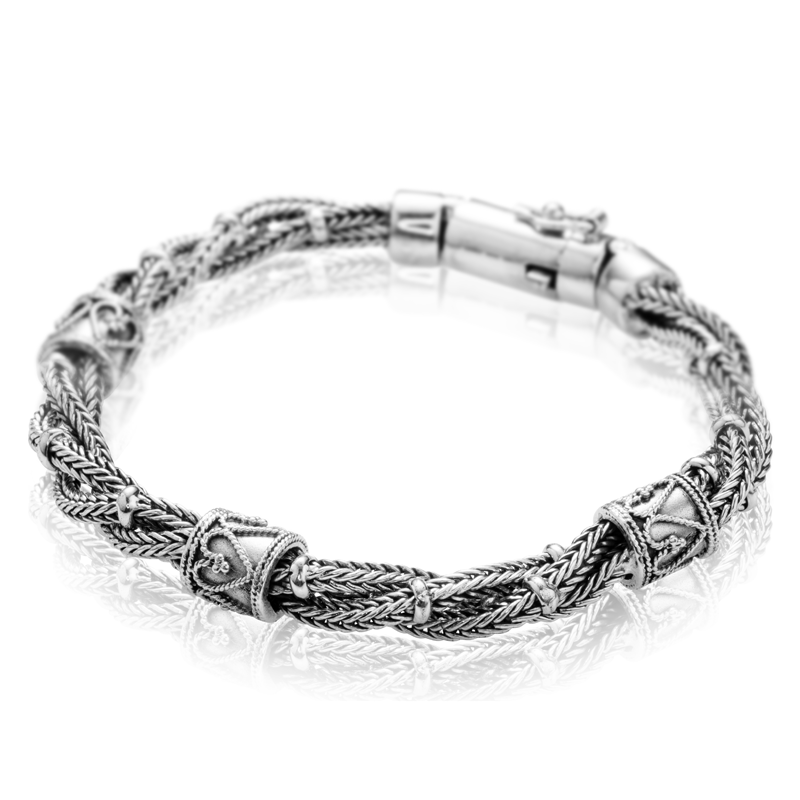 Shipton And Co Ladies Shipton And Co Silver Bracelet Tda088ns