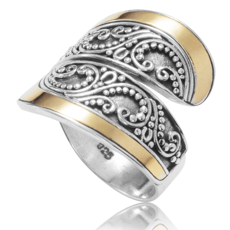 katissa ring with gold inlay enjoy your fit