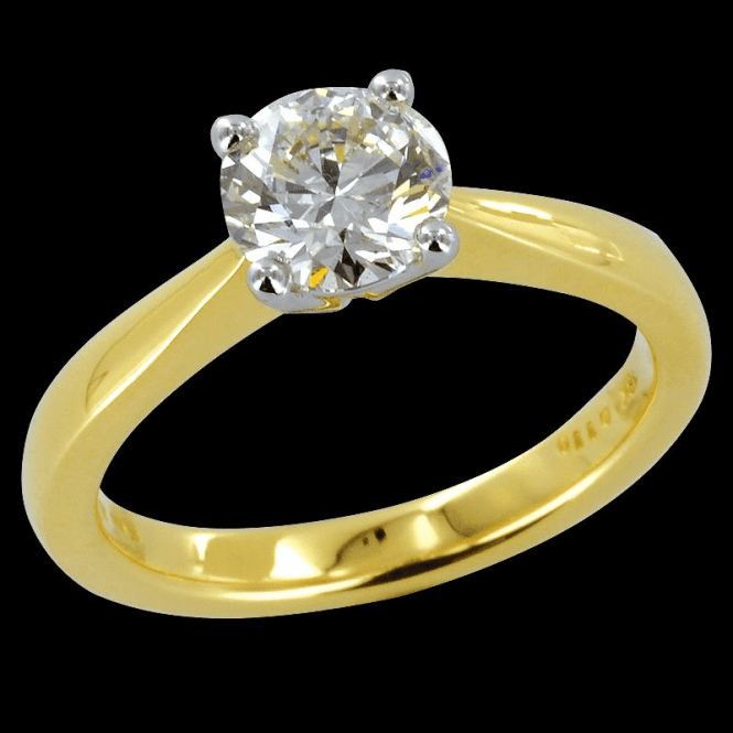 Ladies Shipton and Co Exclusive 18ct Yellow Gold 1.1ct Diamond Ring H/I1 S08535DI